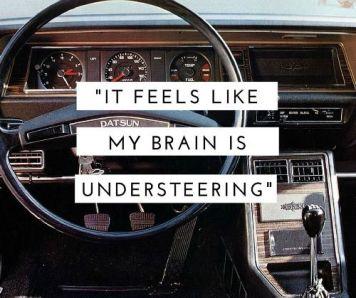Understeering